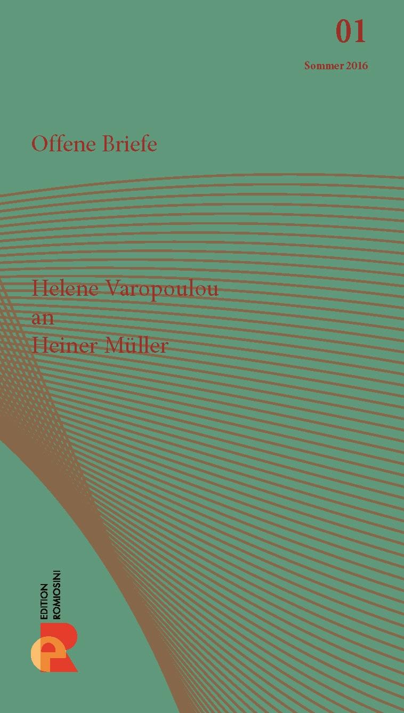 Titelbild für Brief an Heiner Müller
