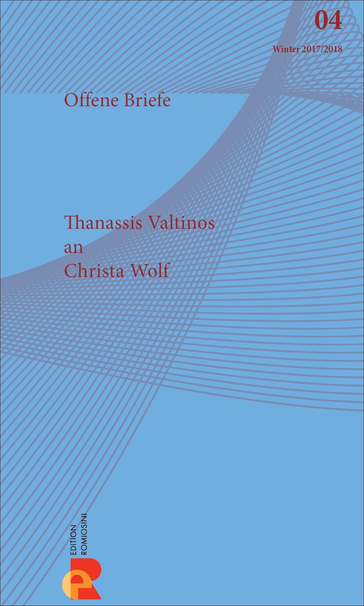 Titelbild für Brief an Christa Wolf