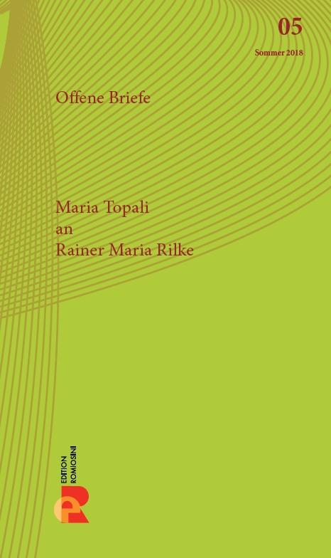Titelbild für Brief an Rainer Maria Rilke