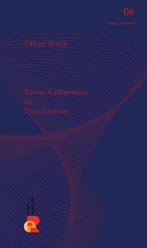 Titelbild für Brief an Uwe Johnson