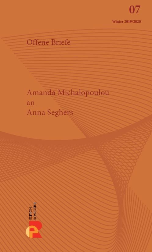 Titelbild für Brief an Anna Seghers