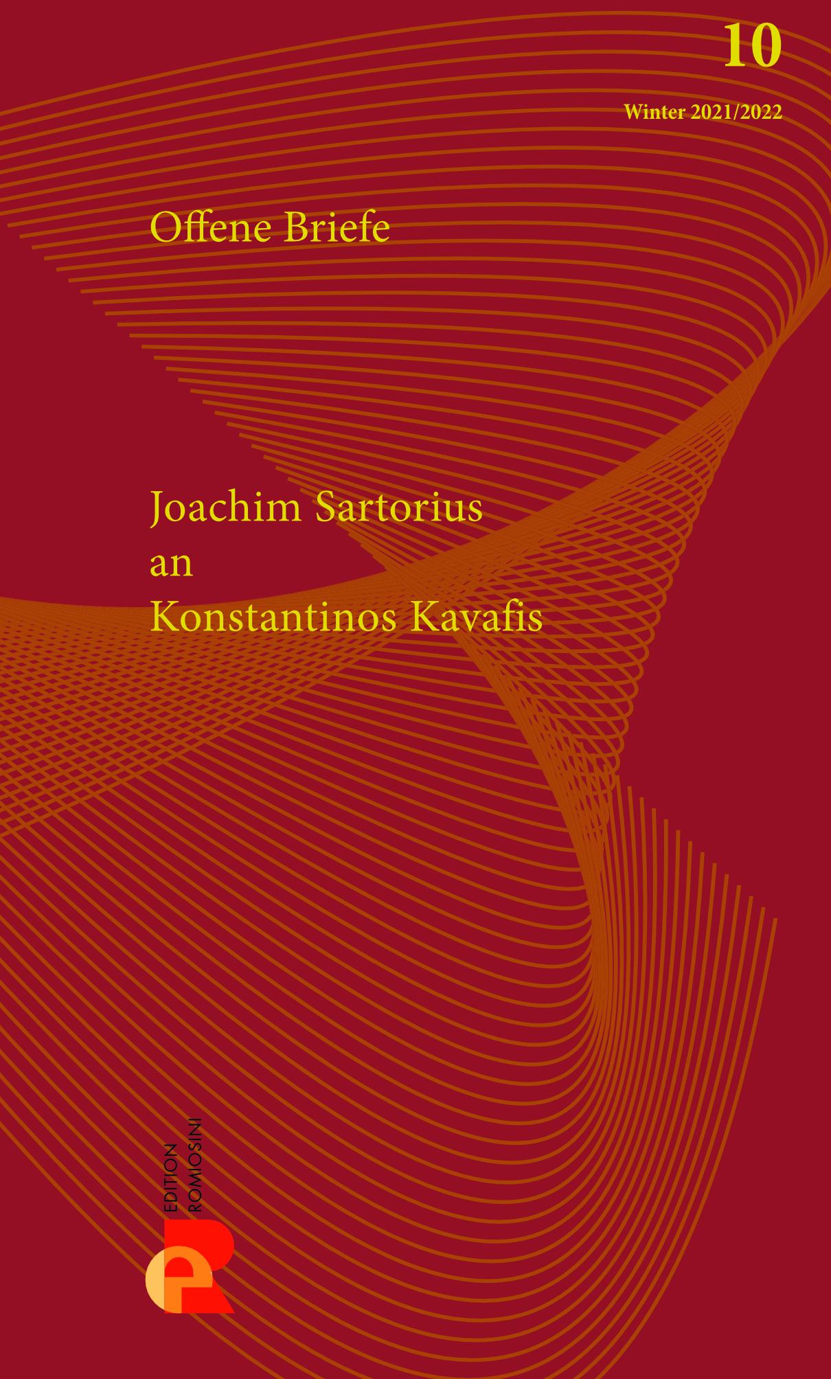 Titelbild für Brief an Konstantinos Kavafis